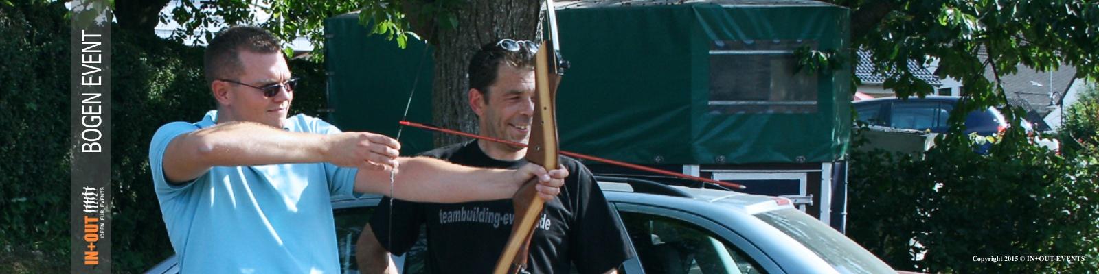 Bogenschießen - IN+OUT TEAM EVENTS