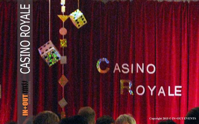 Team Incentive Ideen - Casino Royale