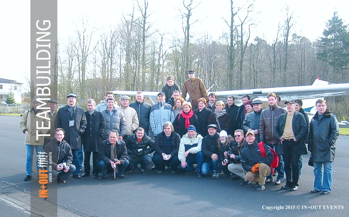 Team Incentive Event Ideen - Flugschule