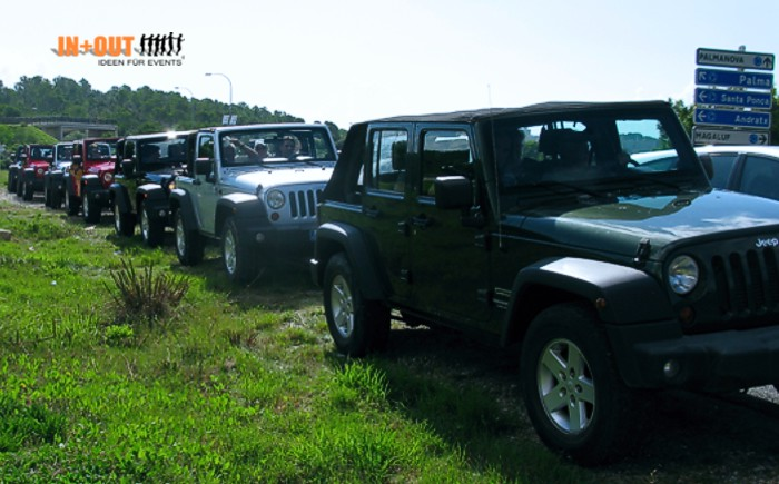 Incentive Mallorca Jeep Tour