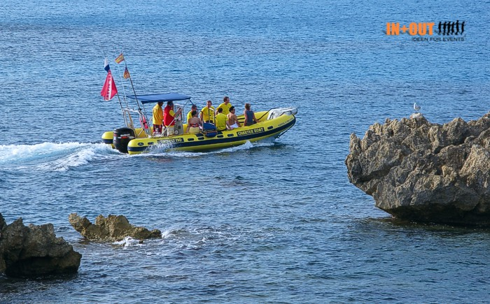 Teambuilding + Incentive Mallorca Powerboot
