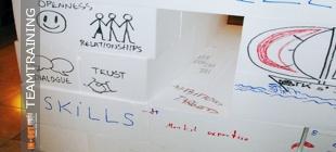 Teambuilding Produkt Team Haus