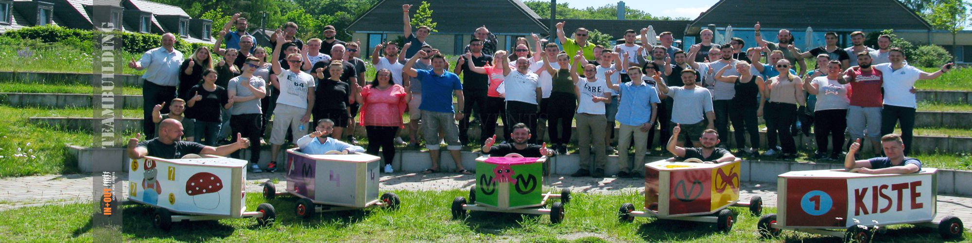Ideen für Team Events - Seifenkisten Team Challenge - Event Koblenz