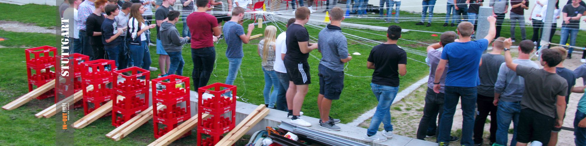 Tischkicker bauen - IN+OUT TEAM EVENTS