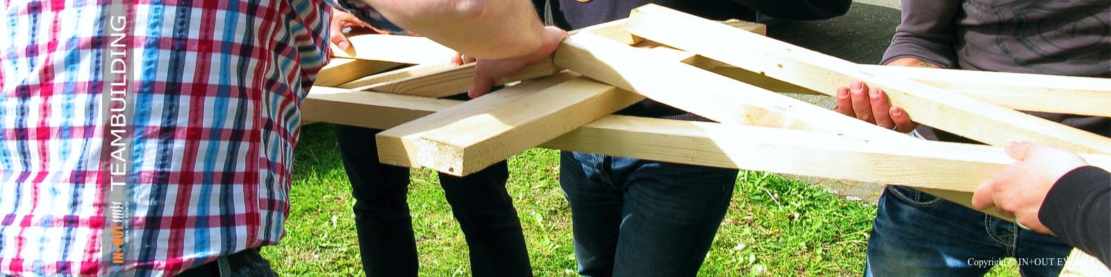 Teambuilding Events Idee: Leonardo Brücke