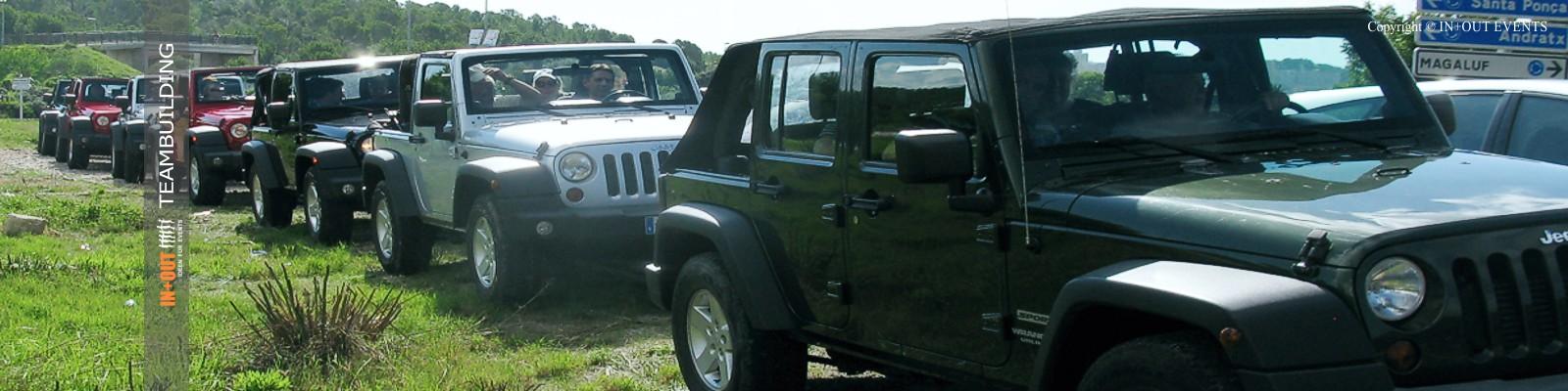 Team Incentive Jeep Tour