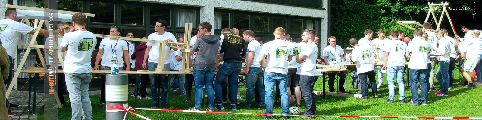 Kettereaktion Teambuilding Event