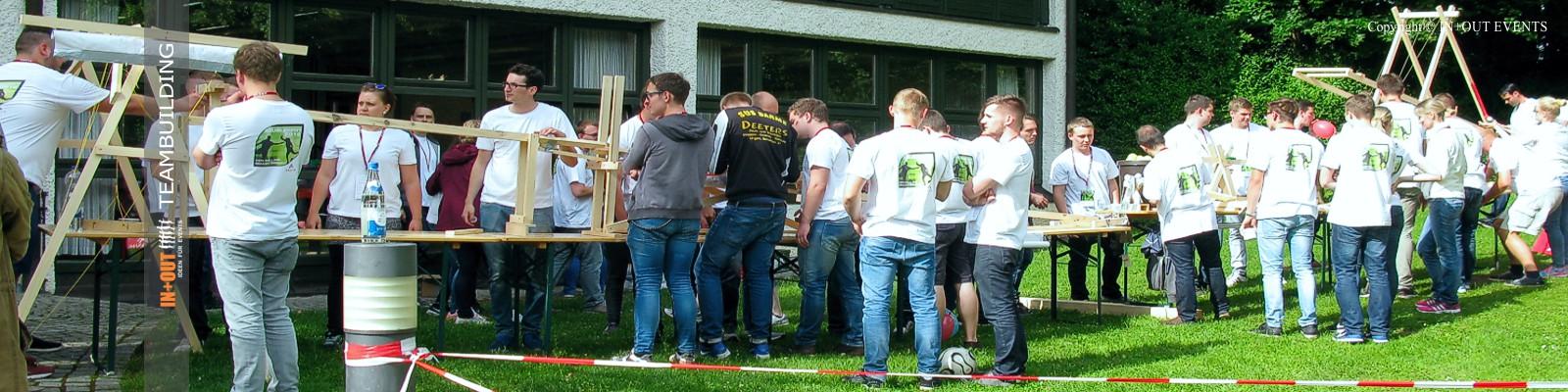 Kettereaktion Teambuilding Event