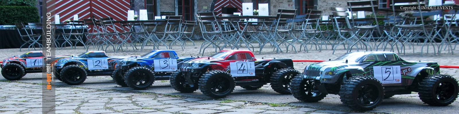 Team und Mitarbeitermotivation RC Cars