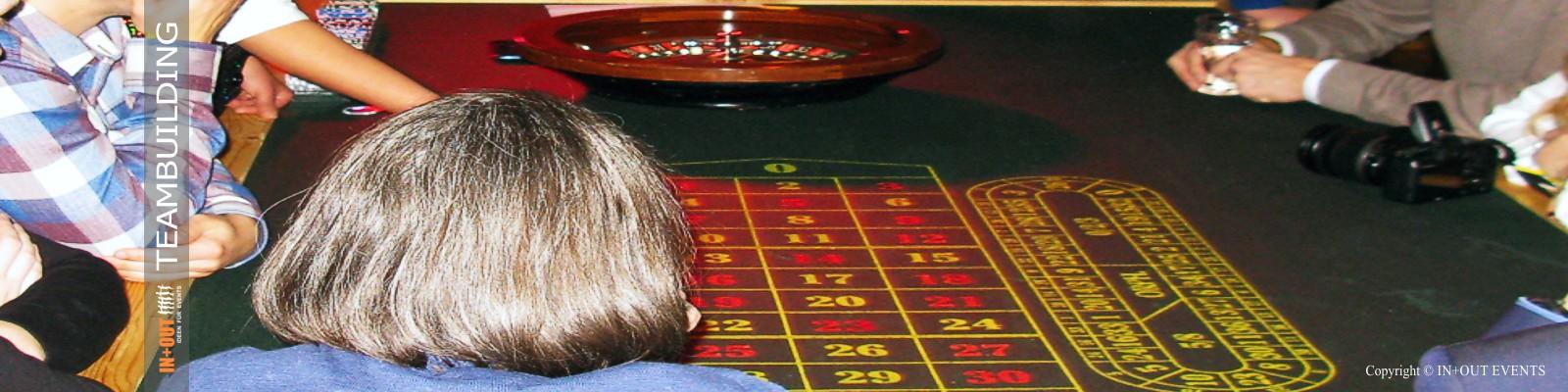 Casino Event mit Roulette