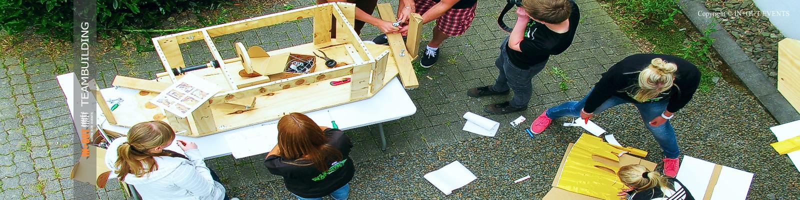 Teambuilding Event Seifenkiste bauen