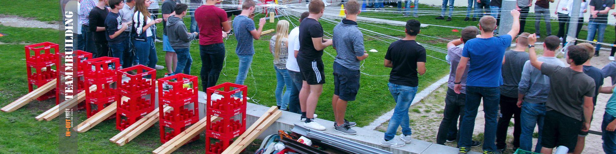 Ideen für Team Events - Azubi Camp - Team Event Würzburg