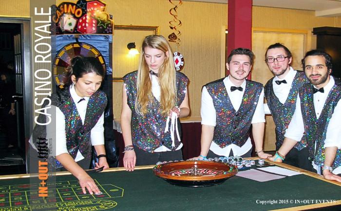 Casino Royale Groupier