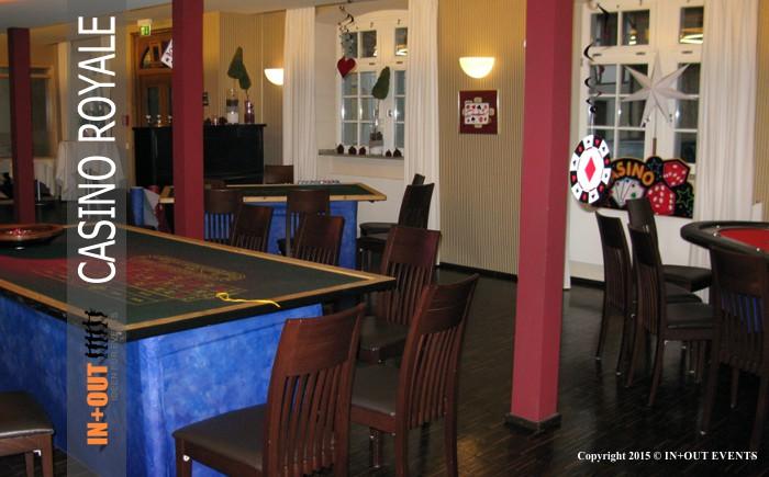 Casino Royale Spieltische