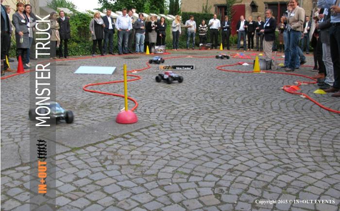 Modul RC Cars Rennstrecke