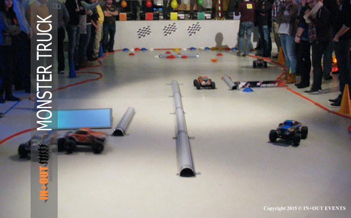 RC Cars Indoor Rennstrecke